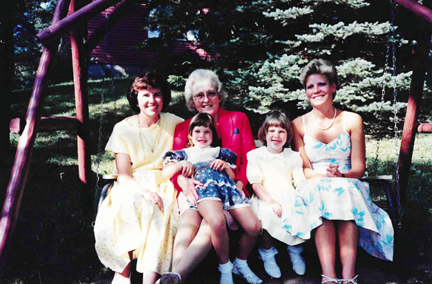 Strong family women