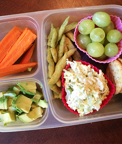 Easy bento lunches for preschoolers, toddlers and kids