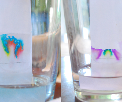 paper chromatography for kids STEM