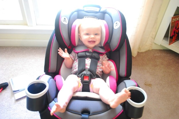 The Only Car Seat You Will Need Video Graco 4ever 4 In 1 Convertible