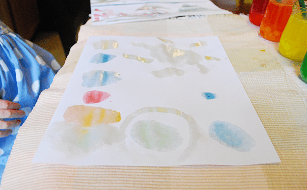painting with candy the solar system