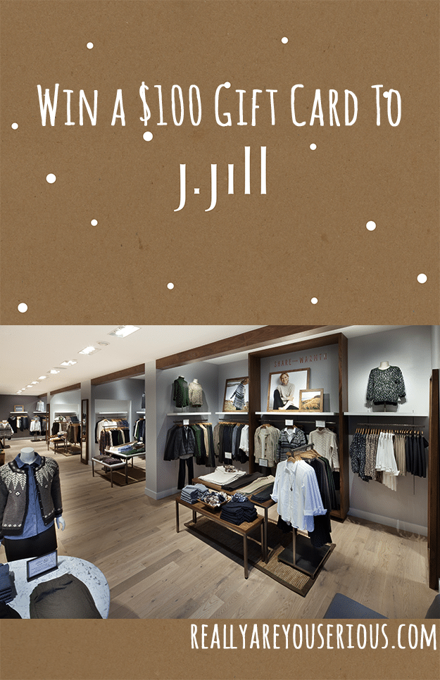 Win $100 to J Jill Gift Card Giveaway