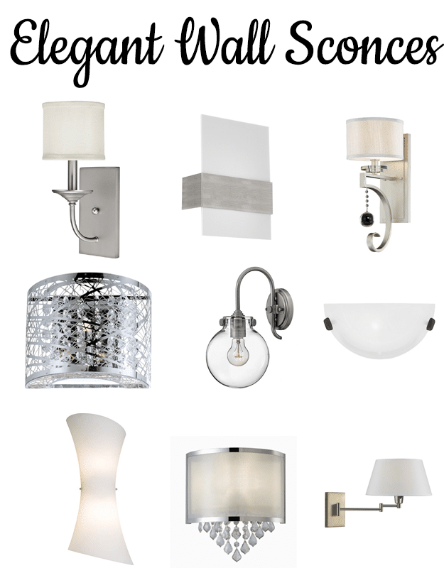Wall sconces for small and dark living spaces