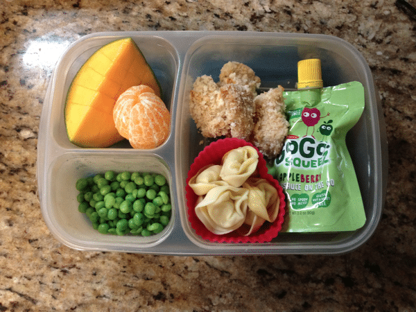 Easy to pack lunches for preschool and toddlers