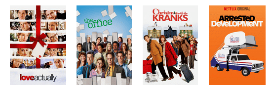 Netflix for the holidays