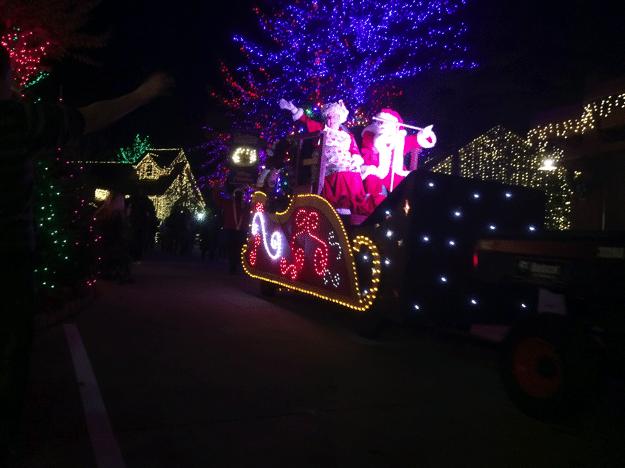 Stone Mountain Christmas with Santa and Parade