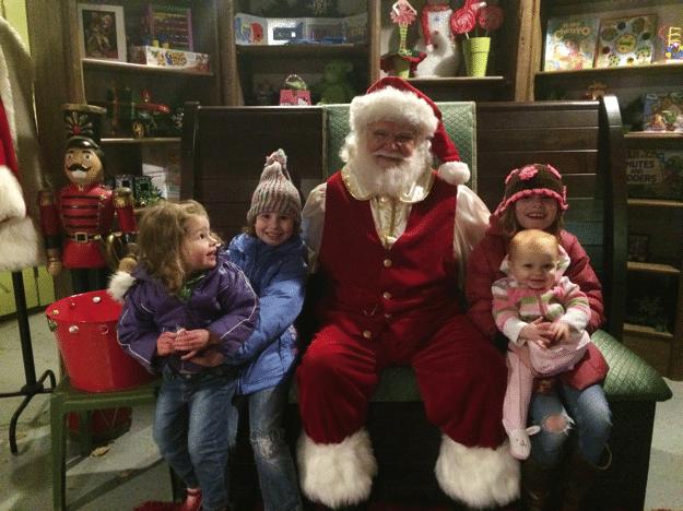 Stone Mountain Christmas with Santa