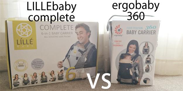Lillebaby Complete versus Ergobaby 360