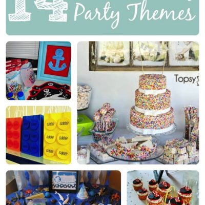 14 awesome birthday party themes