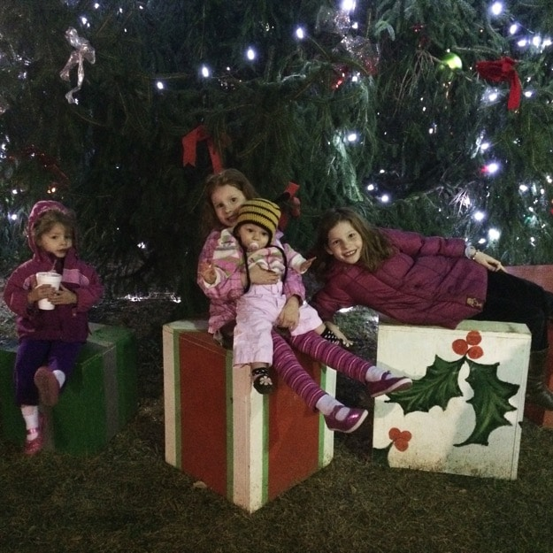 Christmas tree pictures after bedtime