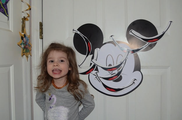 E's third birthday | #Disneyside Party