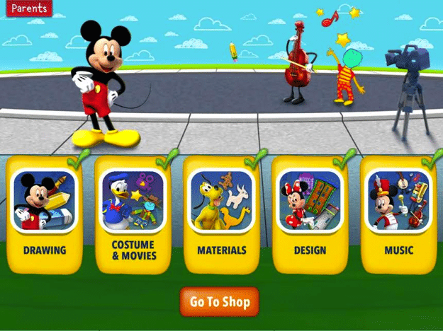 Mickey's Magical Arts World Review