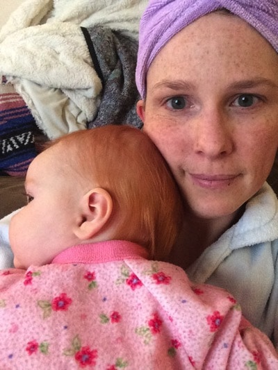 Snuggly baby   Mommy and Me Monday