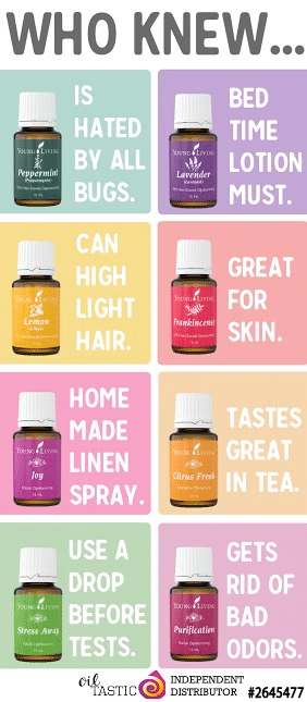 Uses for Essential Oils | Young Living