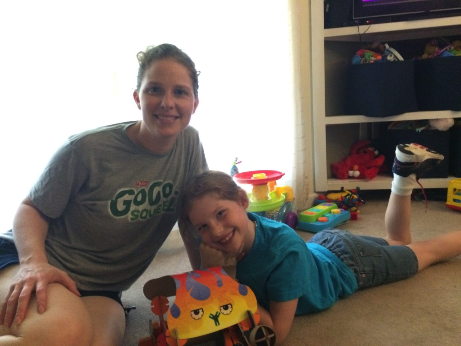 Building with my girl | Mommy and Me Monday