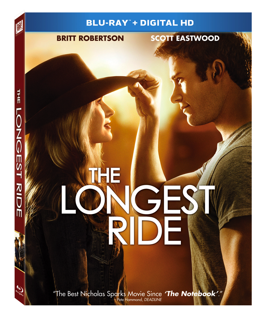Longest Ride Blu-ray™ and DVD Giveaway