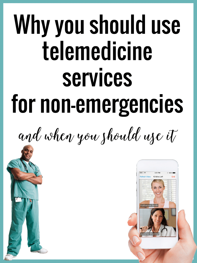 Why you should use telemedicine services for non-emergencies