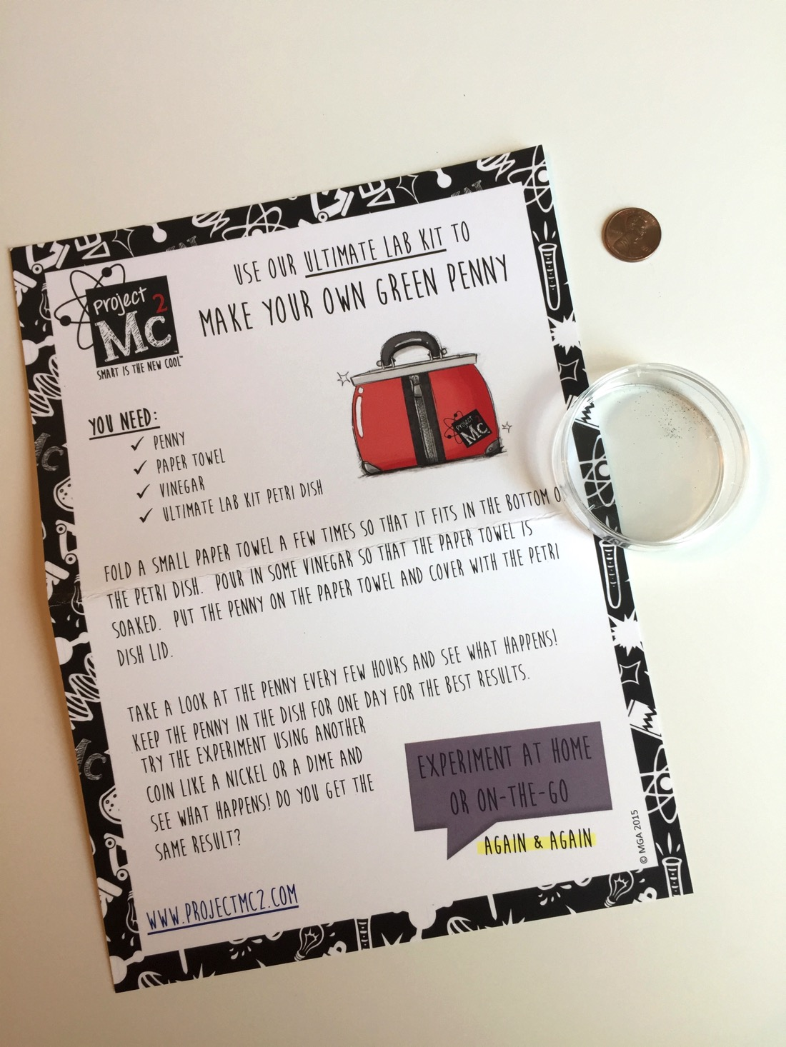 4 S.T.E.A.M Experiments inspired by Project Mc²