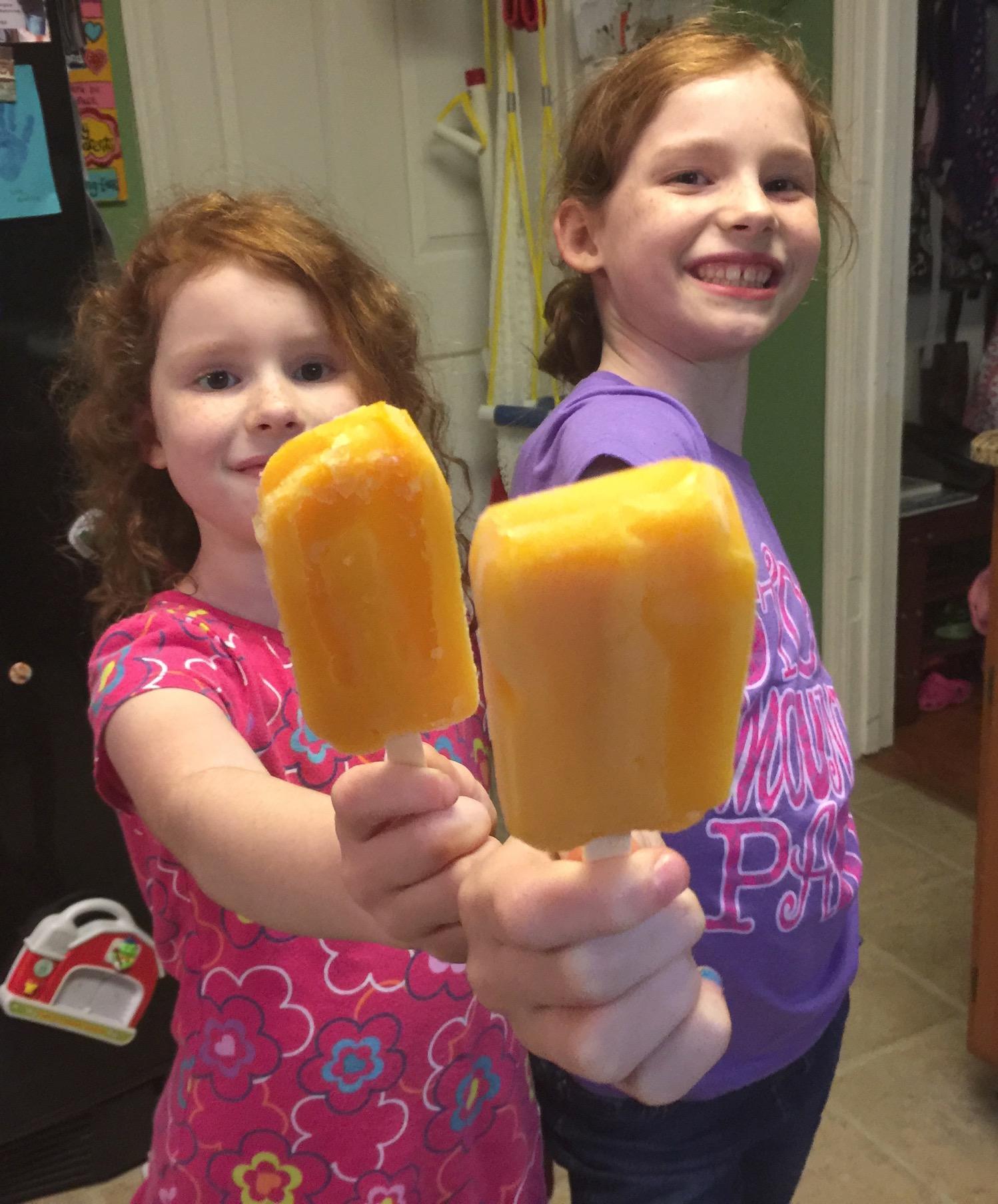 Easy kid-friendly treats | Fruttare® frozen fruit bars