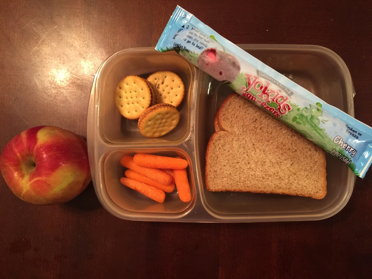 Easy Lunches for Kids packed by kids