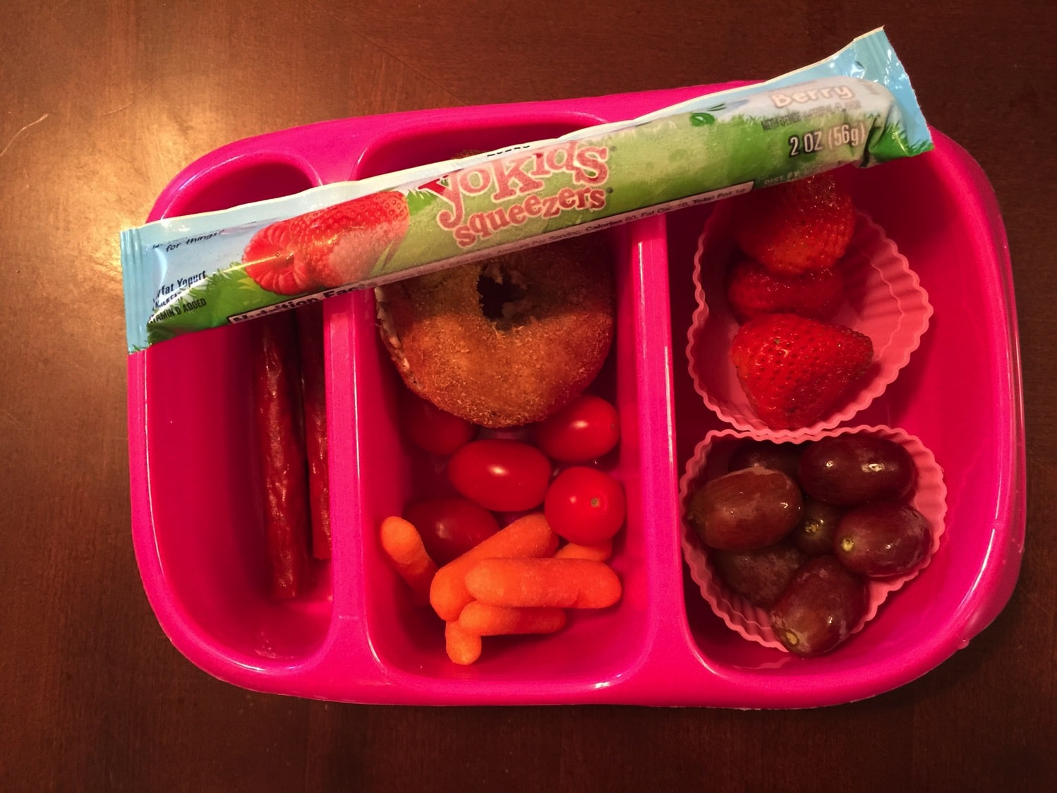 Lunches for Kids packed by kids