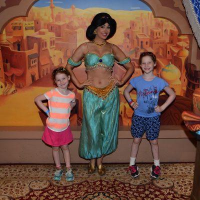 Aladdin and Jasmine on Blu-Ray