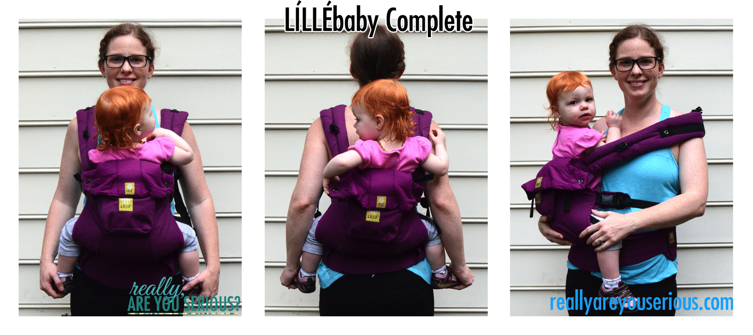 Lillebaby complete 3 carries