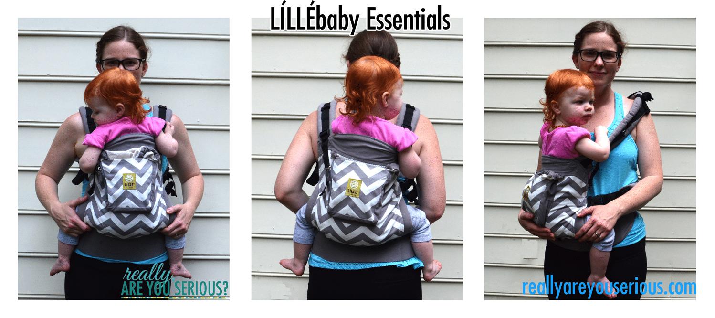 Lillebaby essentials three carries