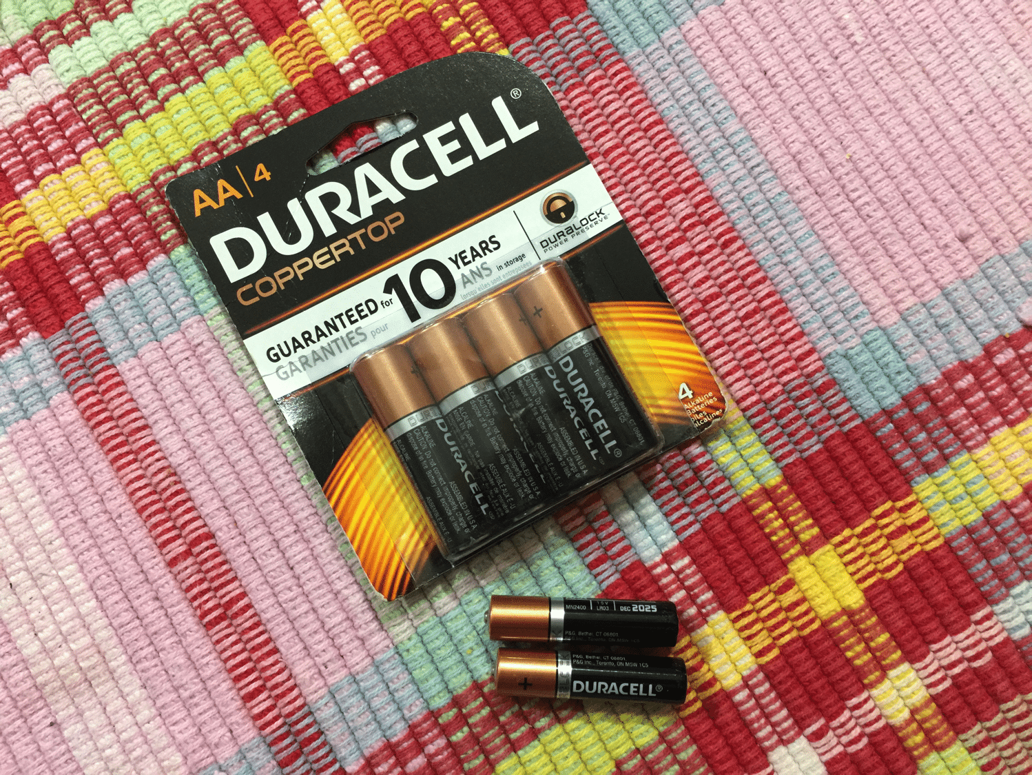 Duracell Batteries for Christmas