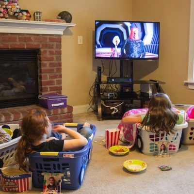 Drive in movie experience at home with #StickAPic