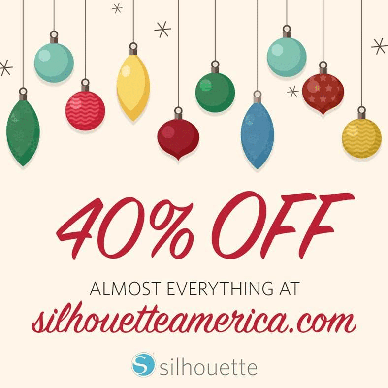 Silhouette machine black friday sale