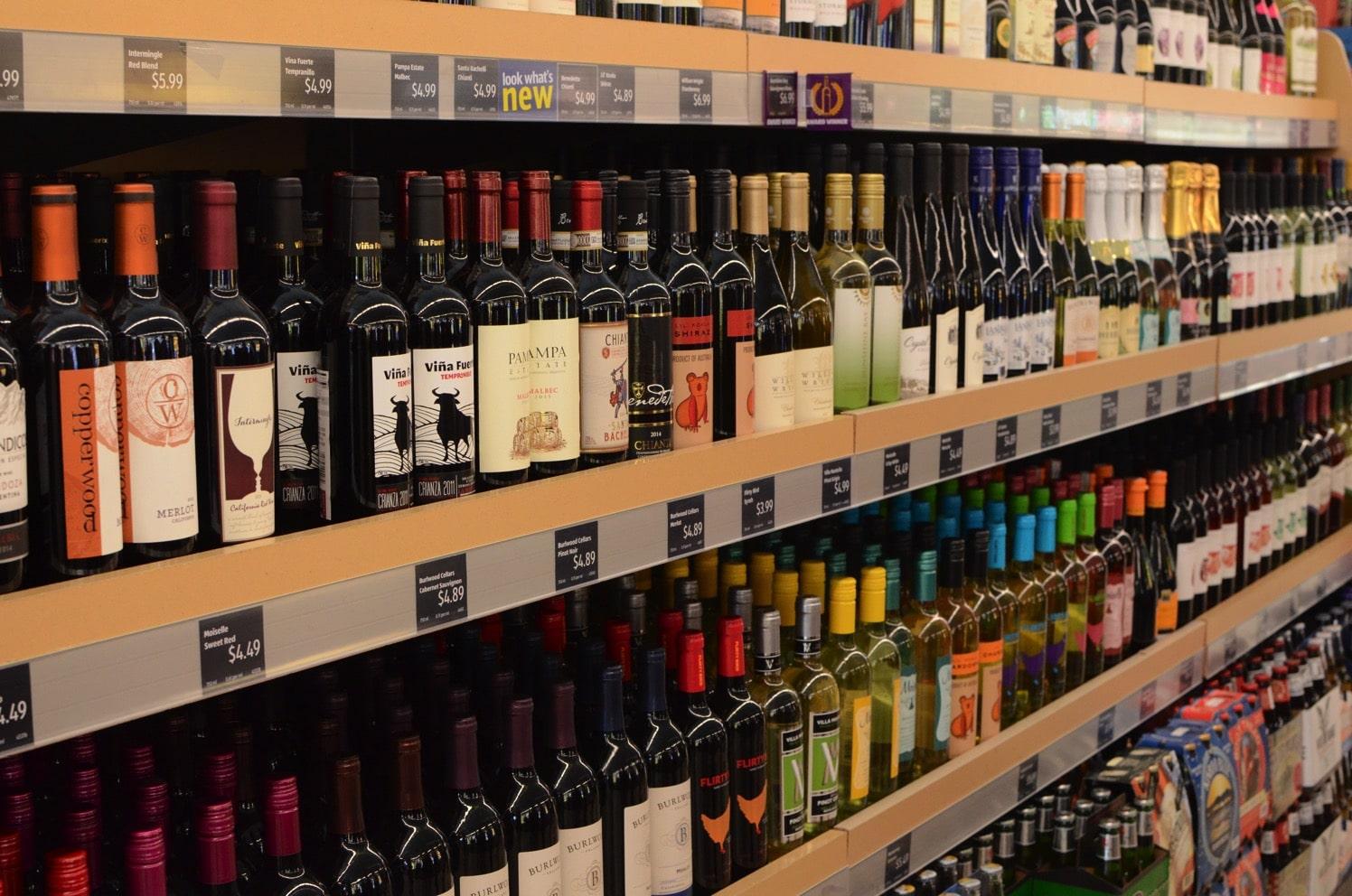 Wine at ALDI