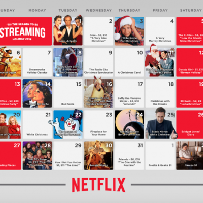 Netflix holiday streaming