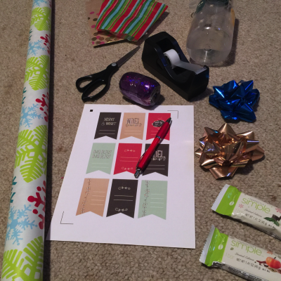 gift wrapping supplies list