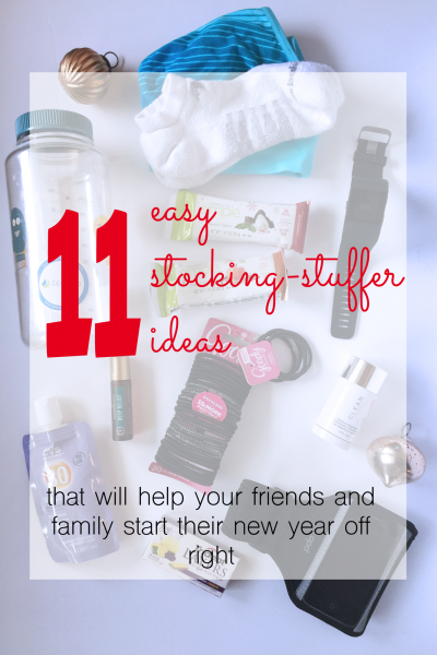 11 easy stocking-stuffer ideas for the new year and health