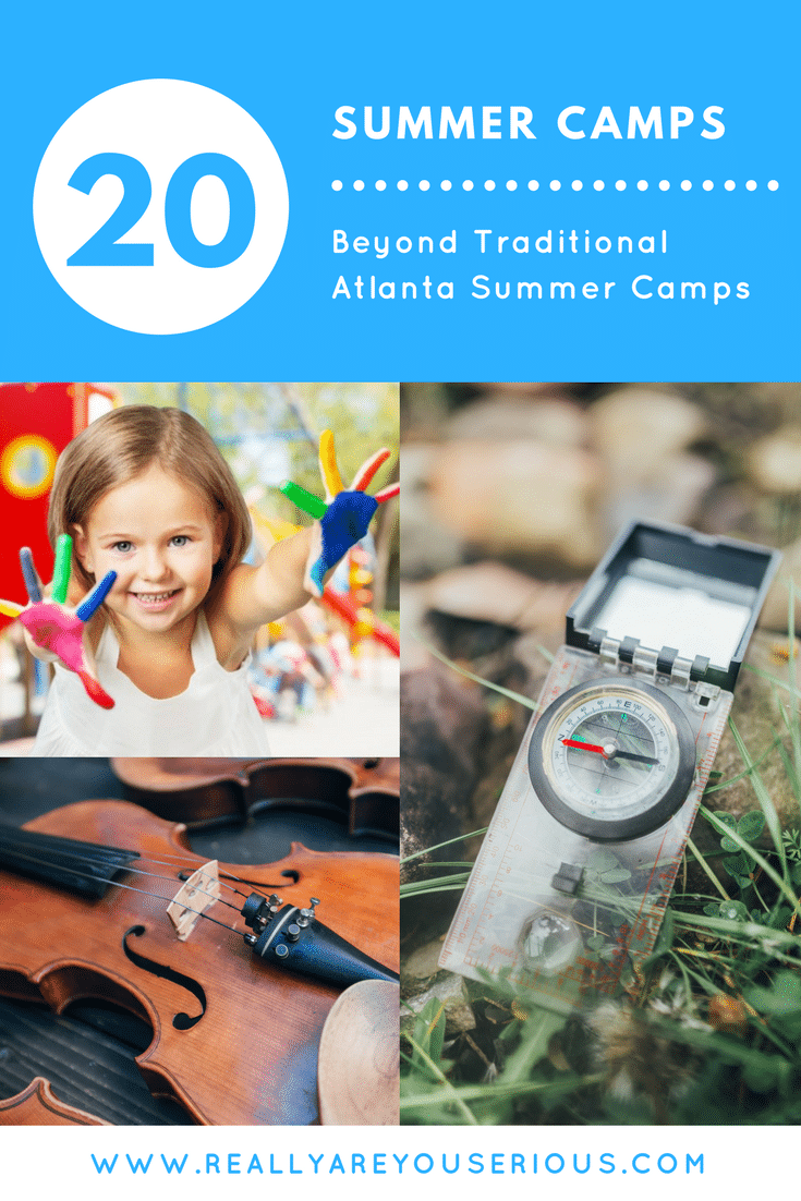 20 summer camps- Think Beyond Traditional Programs With These 20 Atlanta Camps