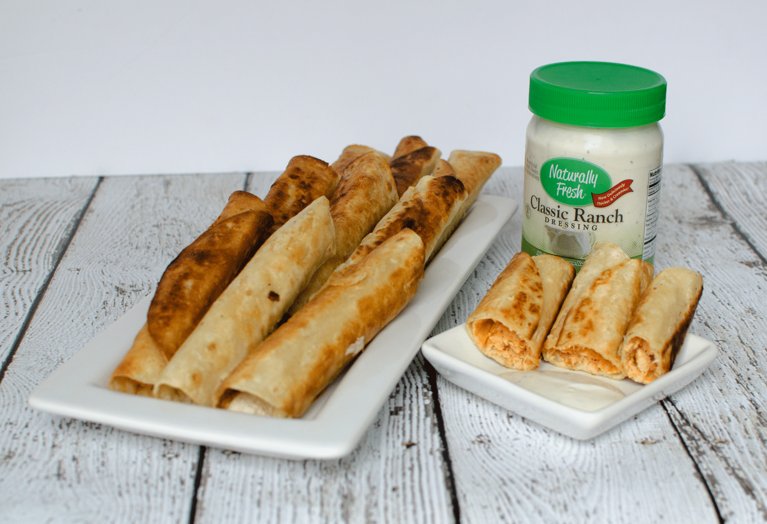 Easy Buffalo Chicken Taquitos | Gluten-Free Dairy-Free