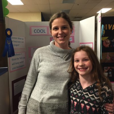 Science Fair Blur Ribbon Mommy and Me Monday