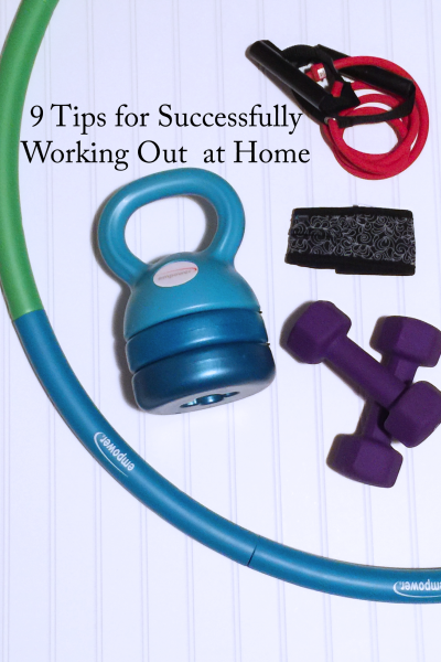 9 tips for working out at home successfully