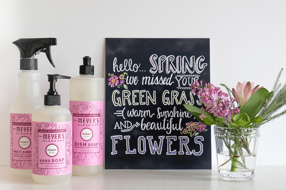FREE Mrs. Meyers Spring Cleaning Kit