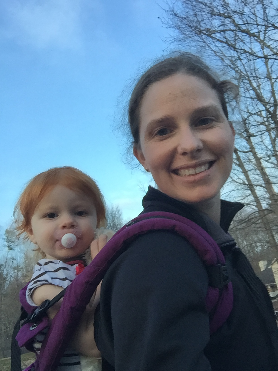 Walking weather | mommy and me monday