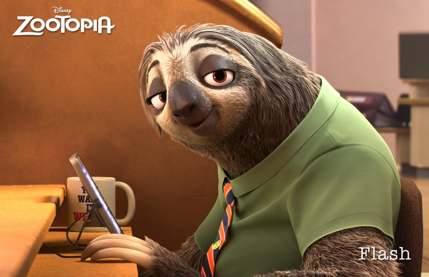 flash zootopia sloth