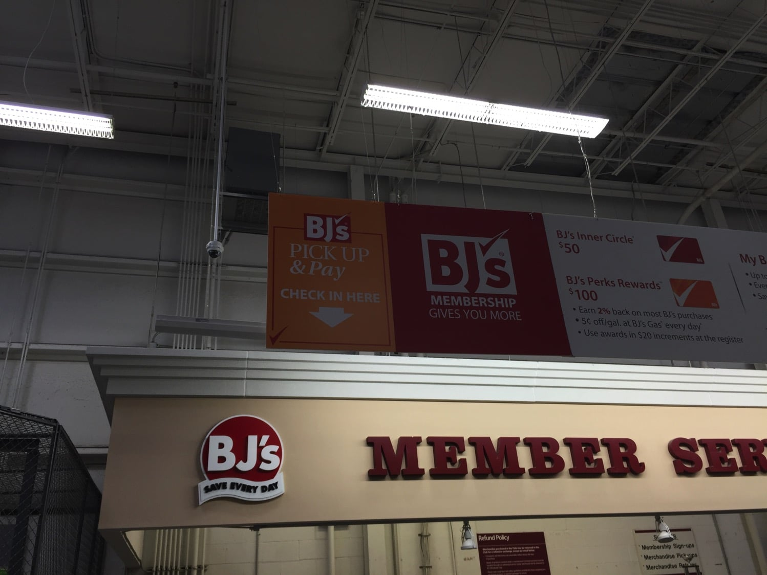 BJ's pick and pay