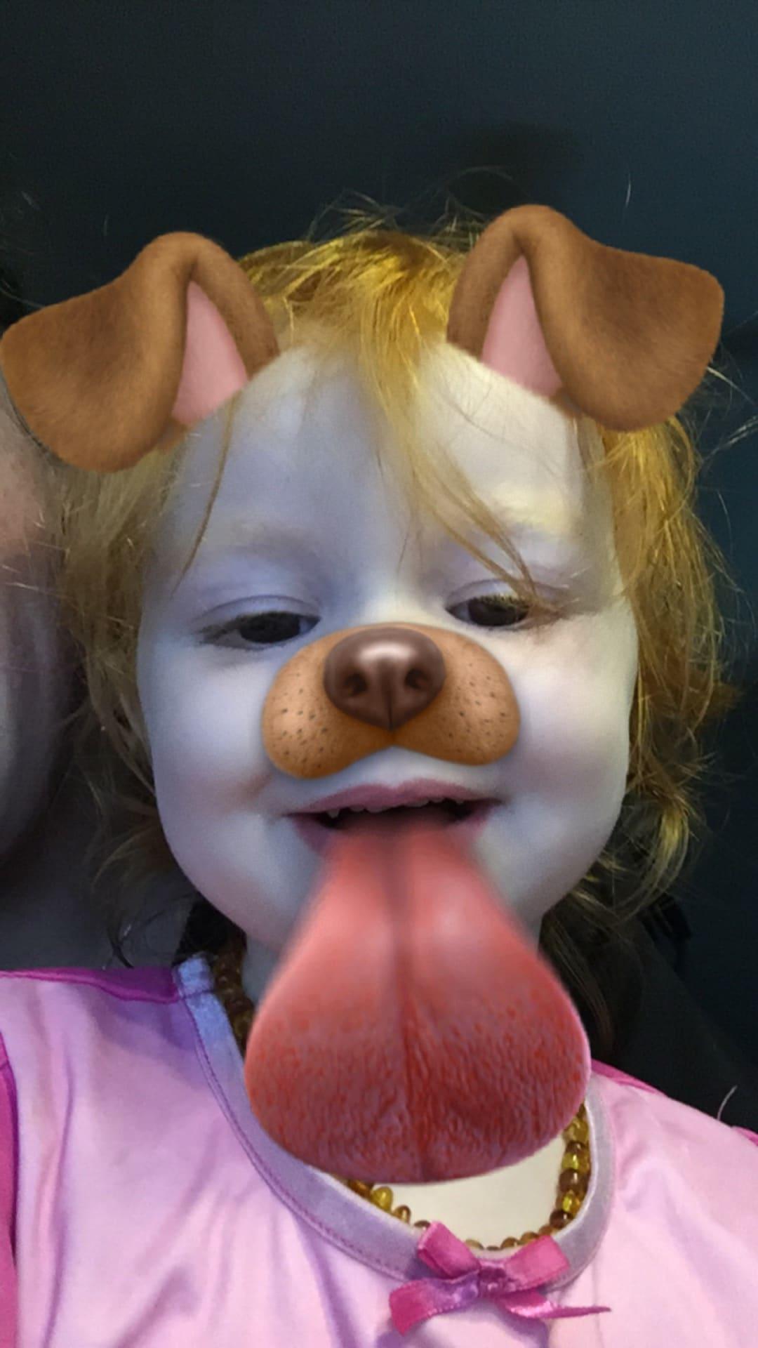 Snapchat fun with B