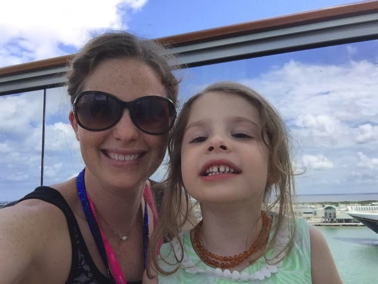Waiting to leave port canaveral | Mommy and Me Monday