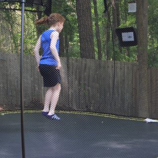 How to use a trampoline at a birthday party