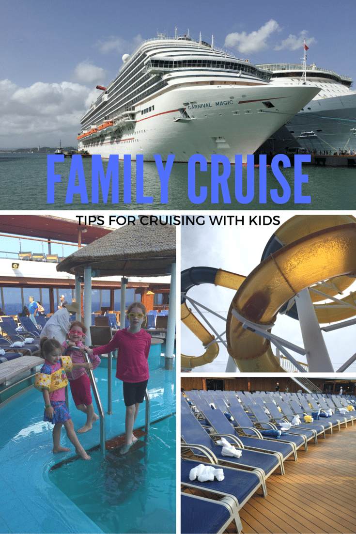 FAMILY CRUISE-tips for cruising with kids