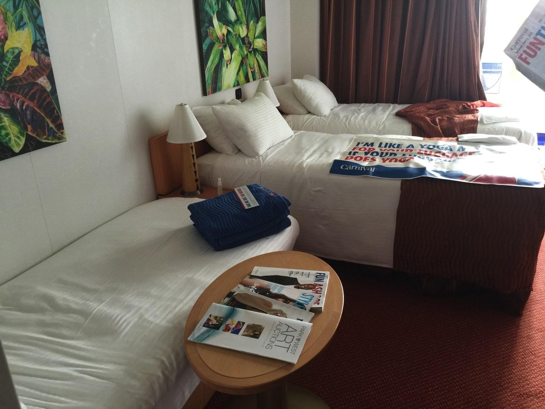 Family Cruise: Carnival Cruise Magic Balcony Room