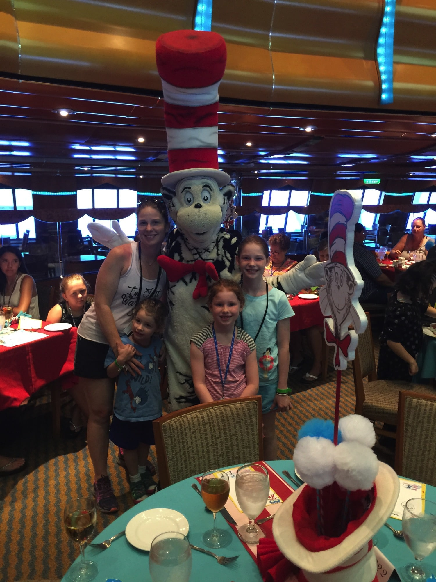 family cruise | dr. seuss breakfast