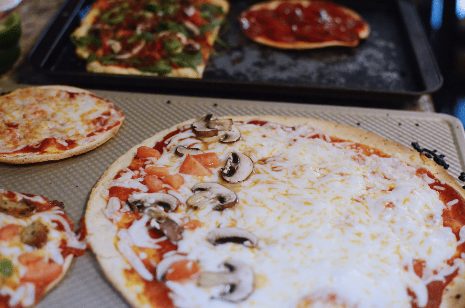 easy diy pizza bar with aldi